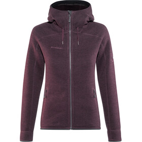 Mammut Arctic ML Hooded Jacket Damen grape-phantom melange